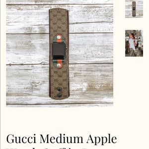 Gucci Accessories - Gucci repolstered Apple Watch band.